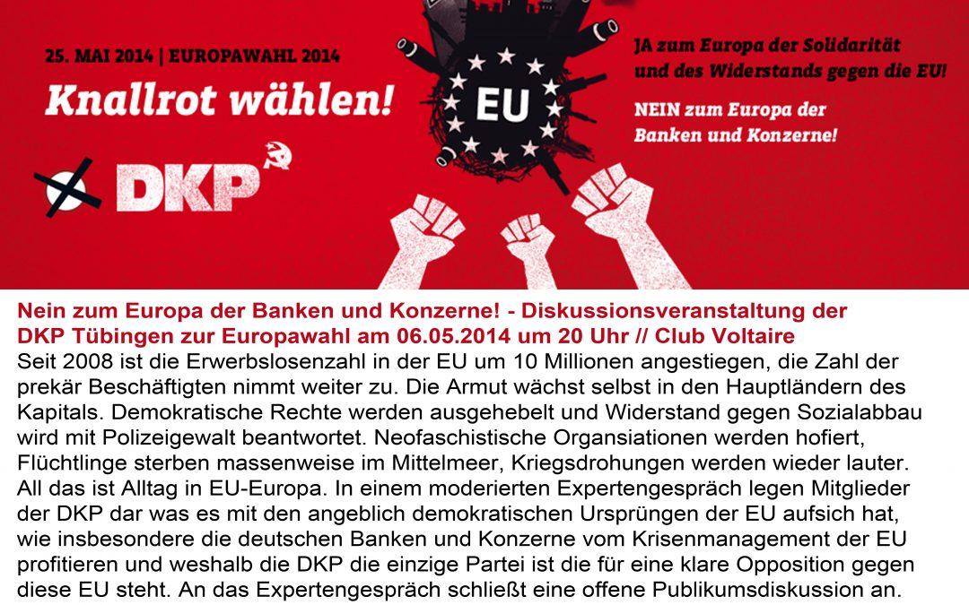 Vota Comunista! Am 25. Mai DKP wählen!