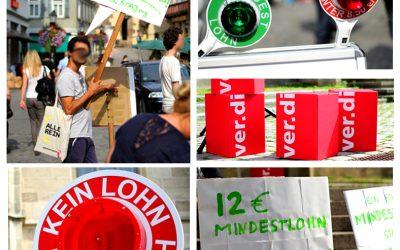 [Tü] Mindestlohn: Wir fordern 12 Euro – Ohne Ausnahme!