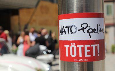 NATO-Pipeline: Krieg beginnt hier und muss auch hier gestoppt werden!