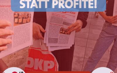 """SDAJ Stuttgart verteilt die """"Rote Spritze"""""""