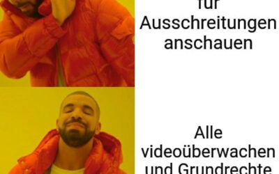 Videoüberwachung in Stuttgart? Nein danke!