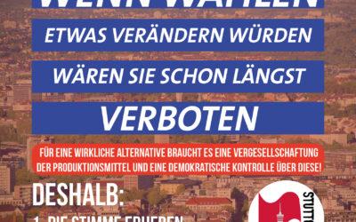 Wenn Wahlen was verändern würden – Oberbürgermeisterwahl in Stuttgart