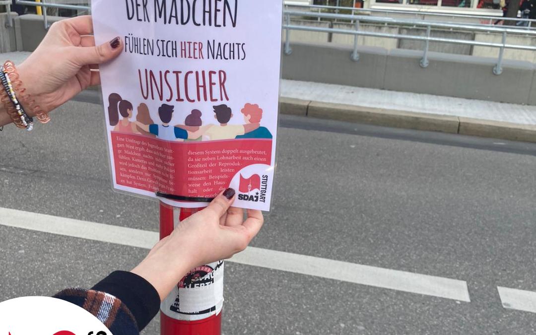 Aktion gegen Alltagssexismus in Stuttgart West