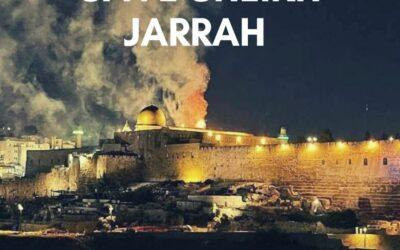 Save Sheikh Jarrah – End the Occupation